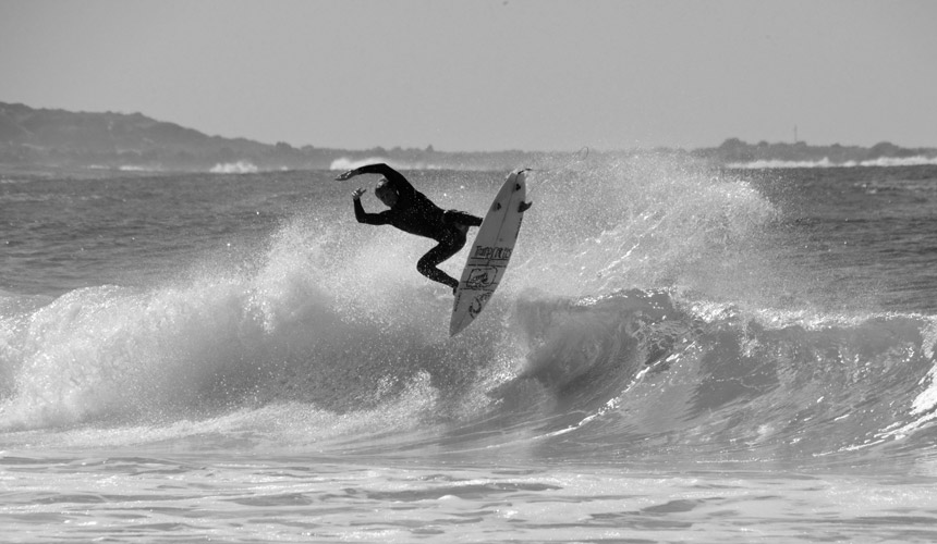 Photographer: Alex McGeown / Surfer: Chris Frolich / Location: Seal Point