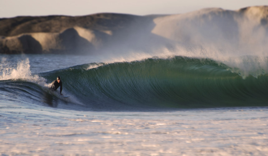 Photographer: Tahlia De Klerk / Surfer: Unidentified / Location: Sandy Bay