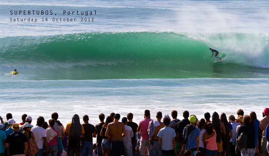 The Rip Curl Pro Portugal kicked off with Round 1 at Supertubos this past Saturday, and although Jordy couldn't find the scores to beat Dusty Payne in Round 2, he still locked in some quality time in the green room at the perfect beachbreak peak. Not such a bad day at the office by most accounts. Watch the event unfold at http://live.ripcurl.com