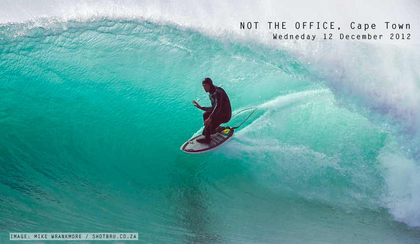 Whether it's during you annual leave, a quick weekday sesh, or just another weekend mission, there's no better stress reliever than going for a surf and hitting the perfect line through a hollow bowl. That's it, go surfing, it makes the world a better place. Neil Zietsman doesn't need encouragement. - Image by: Mike Wrankmore / www.shotbru.co.za