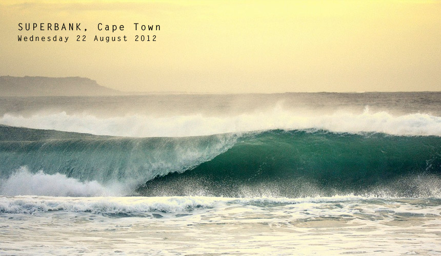 While back-to-back swells have been lighting up many of the Mother City's big wave spots, the amount of water moving around is transporting and depositing sand in some unusual places, creating temporary perfection at otherwise forgettable spots. Seek and ye shall find! Image by: Marc Francis / shotbru.co.za