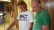 Spowy and Dale Staples talk surfboards - 2010