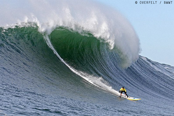 Jamie Sterling Wins Nelscott Reef Big Wave Classic