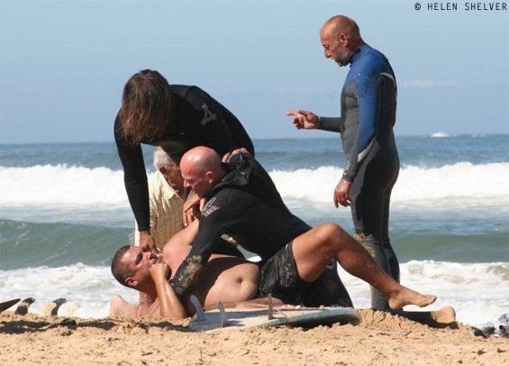 anger mounts over east beach jetskisurfer incident