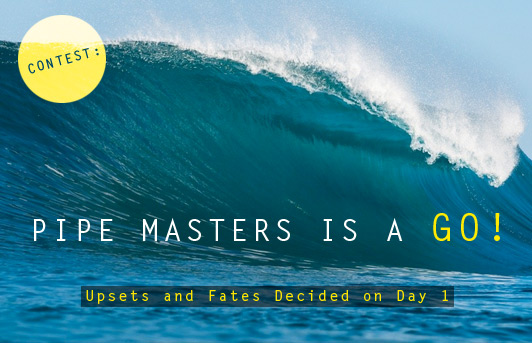2bf3fa49f7 Upsets and Fates Decided on Day 1 of Billabong Pipe Masters - Zigzag  Magazine