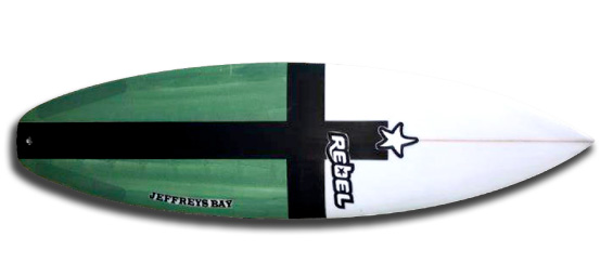 014 Rebel Surfboards