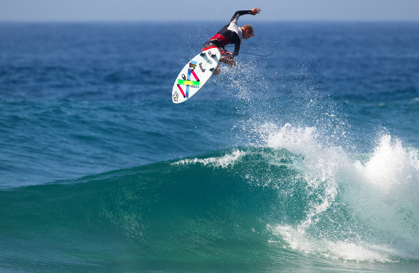 Dylan Lightfoot is one of the SA hopefuls whose been grinding it out on the QS. © Ewing