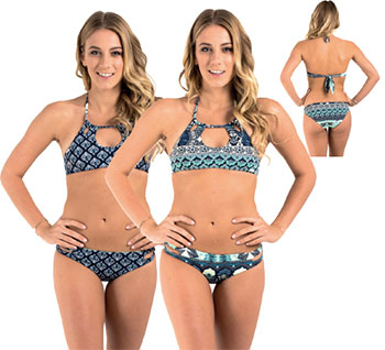 9ad3de53f03 PRT STRAPPY LOVE HALTER CROP TOP – RRP R569.95 • Printed cut out front  feature halter neck reversible top