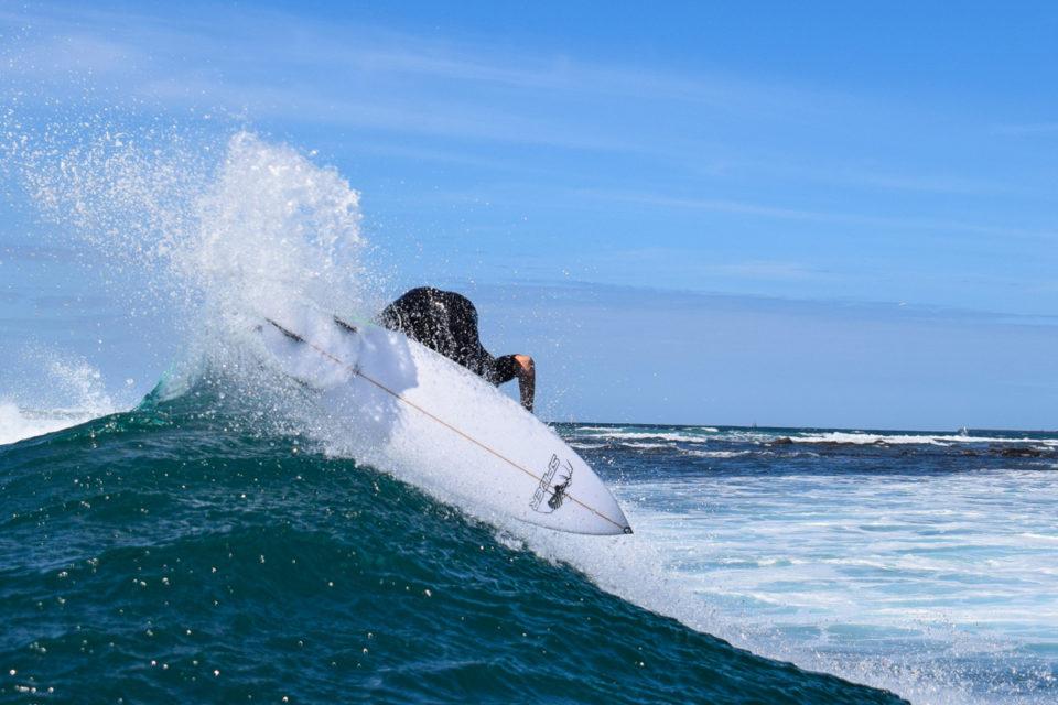 Photographer: Luke Goldschmidt /Surfer: Justin Emslie /Location: Nahoon Reef