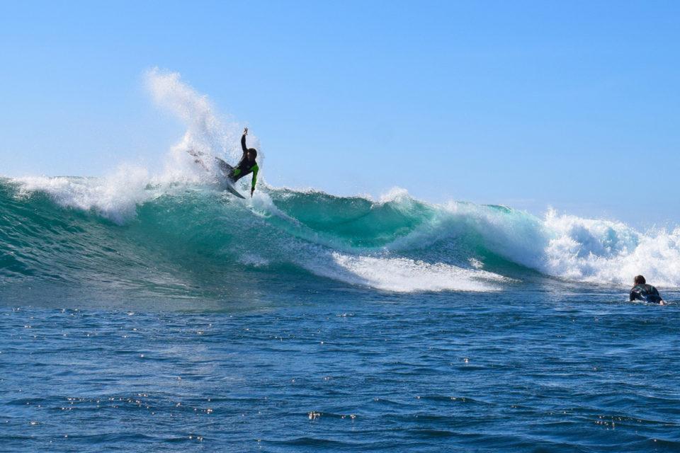 Photographer: Luke Goldschmidt /Surfer: Michael Monk /Location: Nahoon Reef