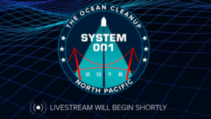 """The Ocean Cleanup System 001 Launch """"LIVE"""""""
