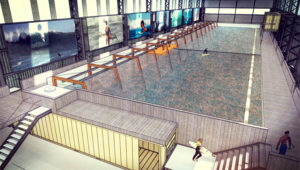 The First Indoor Wave Pool