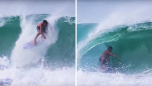 Catching Barrels In Mexico with Clay Marzo